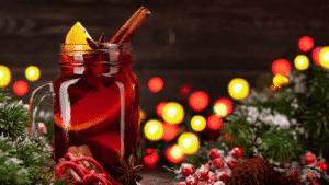 Vin chaud de Noël aux épices